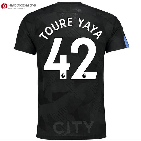 Maillot Foot Pas Cher Manchester City Third Toure Yaya 2017/2018
